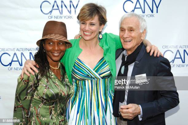 Suzzanne Douglas Cady Huffman and Dick Latessa attend 2010 Annual Gala Creative Alternatives of New York 'BROADWAY AT THE BOATHOUSEENCORE'Arrivals at...