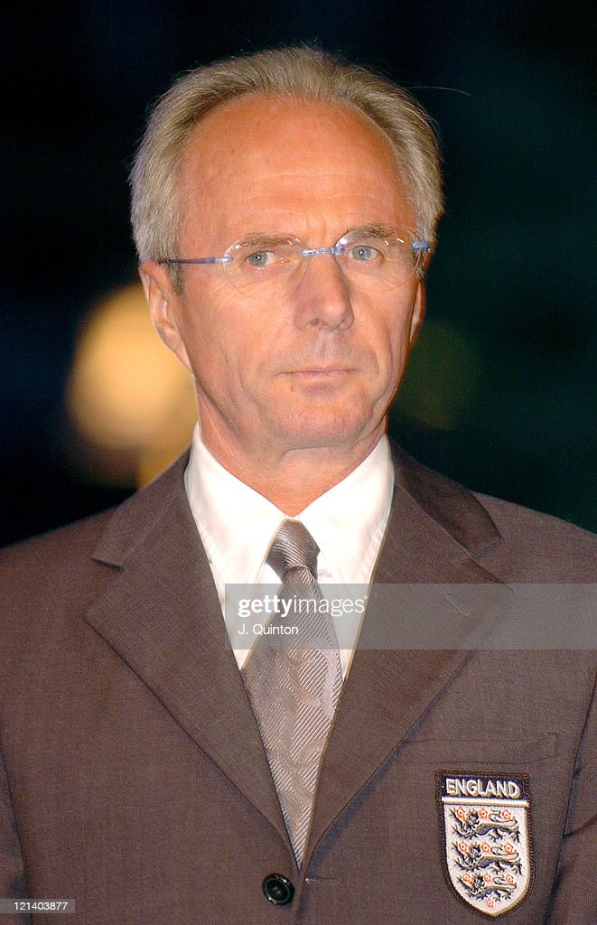 Sven Goran Eriksson during Wembley Stadium Celebrates Topping of the New Arches at Wembley Stadium in London, Great Britain.