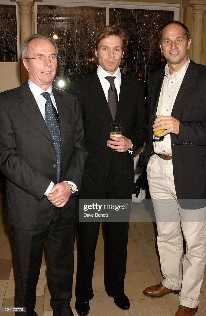 Sven, Goran Eriksson, Sam Hancock And Steven Redgrave, Sam Hancock Propectus Launch, London