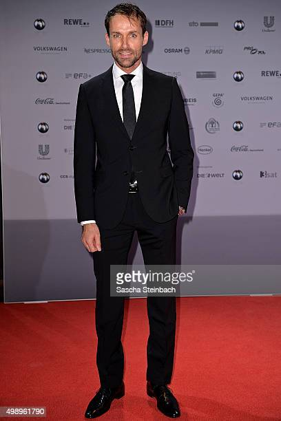 Sven Hannawald attends the German Sustainability Award 2015 at Maritim Hotel on November 27 2015 in Duesseldorf Germany