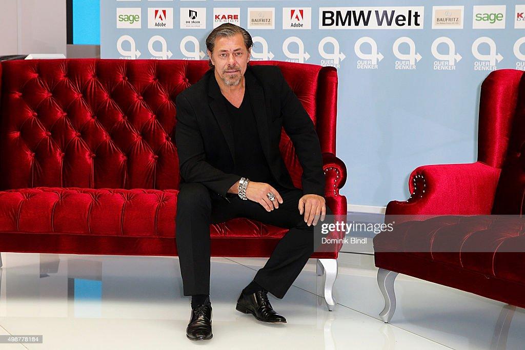 Sven Martinek attends the Querdenker Award 2015 at BMW World on November 25, 2015 in Munich, Germany.