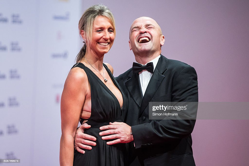 <a gi-track='captionPersonalityLinkClicked' href=/galleries/search?phrase=Sven+Ottke&family=editorial&specificpeople=2105167 ng-click='$event.stopPropagation()'>Sven Ottke</a> and his wife Monic Frank attend German Sports Gala 'Ball des Sports 2016' on February 6, 2016 in Wiesbaden, Germany.