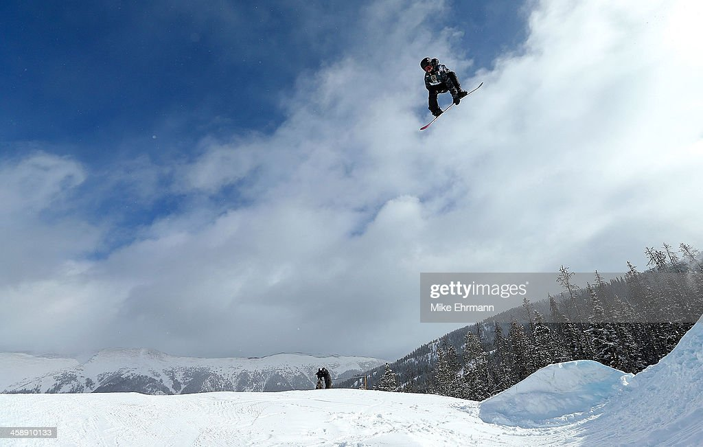 Sven Thorgren of Sweden competes during finals for the mens FIS Snowboard Slopestyle World Cup at U.S. Snowboarding and Freeskiing Grand Prix on December 22, 2013 in Copper Mountain, Colorado.
