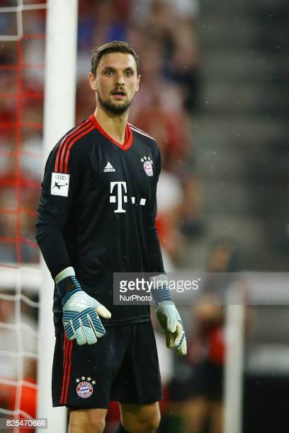 Sven Ulreich of Bayern during the second Audi Cup football match between FC Bayern Munich and FC Liverpool in the stadium in Munich southern Germany...