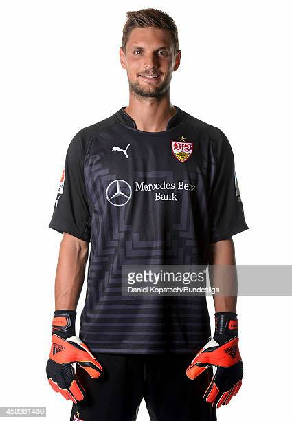 Sven Ulreich poses during the VfB Stuttgart Media Day on July 24 2014 in Stuttgart Germany