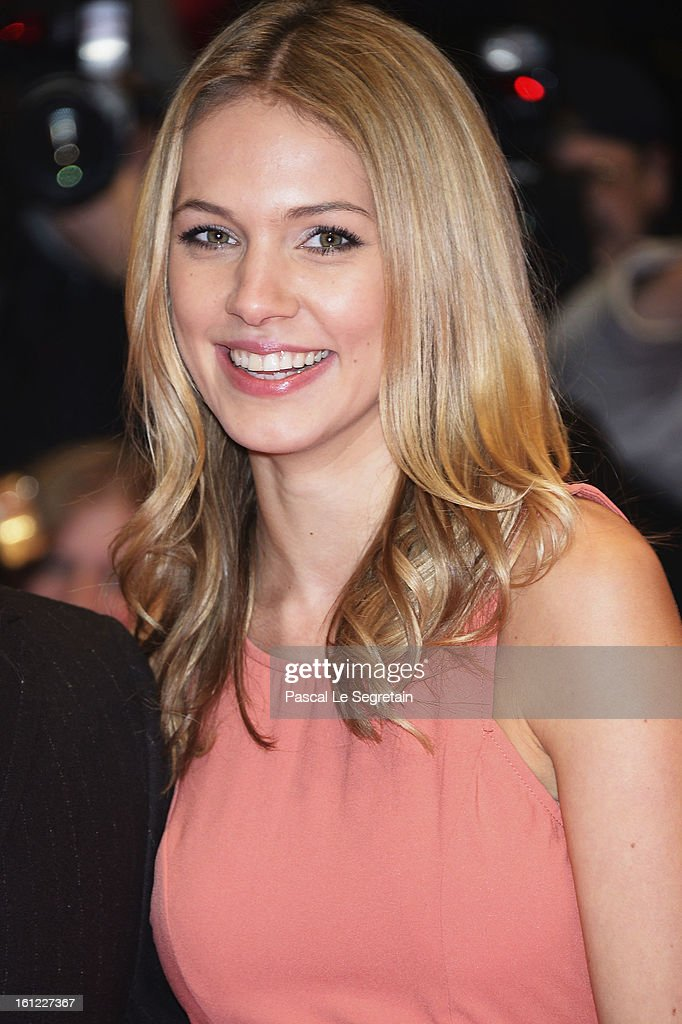 Svenja Holtmann attends the 'The Neccessary Death of Charlie Countryman' Premiere during the 63rd Berlinale International Film Festival at Berlinale Palast on February 9, 2013 in Berlin, Germany.