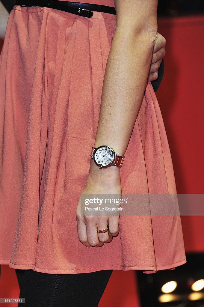 Svenja Holtmann (detail) attends the 'The Neccessary Death of Charlie Countryman' Premiere during the 63rd Berlinale International Film Festival at Berlinale Palast on February 9, 2013 in Berlin, Germany.