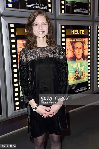 Svenja Jung attends the 'Die Mitte der Welt' Berlin screening on November 6 2016 in Berlin Germany