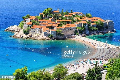 Sveti Stefan, Montenegro : Stock Photo