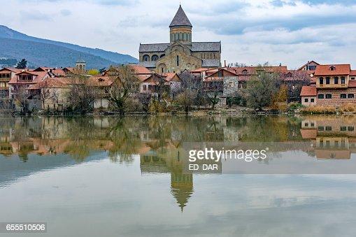 Svetitskhoveli catedral in Mtskheta : Foto stock