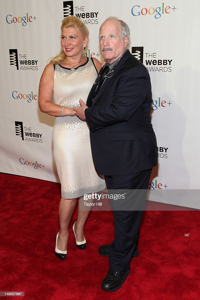 Svetlana Erokhin and <a gi-track='captionPersonalityLinkClicked' href=/galleries/search?phrase=Richard+Dreyfuss&family=editorial&specificpeople=216584 ng-click='$event.stopPropagation()'>Richard Dreyfuss</a> attend the 16th Annual Webby Awards at Hammerstein Ballroom on May 21, 2012 in New York City.