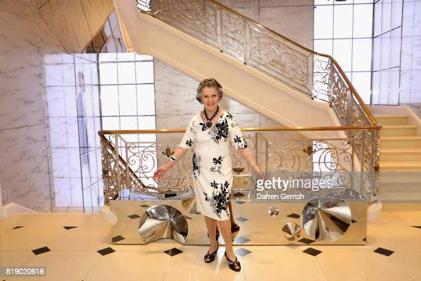 Svetlana Kassessinova Lloyd attends the Dior cocktail party to celebrate the launch of Dior Catwalk by Alexander Fury on July 19 2017 in London...