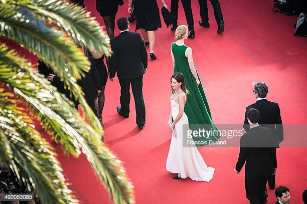 Svetlana Khodchenkova and Gala Gonzalez attend the Premiere of 'The Homesman' at the 67th Annual Cannes Film Festival>> on May 18 2014 in Cannes...