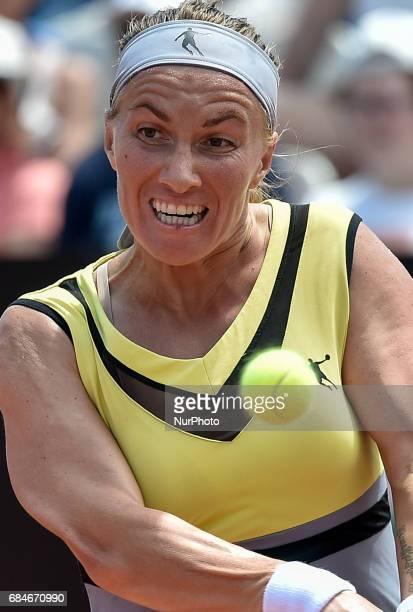 Svetlana Kuznetsova in action during his match against Daria Gavrilova Internazionali BNL d'Italia 2017 on May 16 2017 in Rome Italy