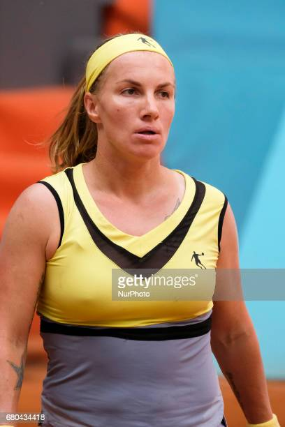 Svetlana Kuznetsova of Rusia against Alison Riske of EEUU during day three of the Mutua Madrid Open tennis at La Caja Magica on May 8 2017 in Madrid...