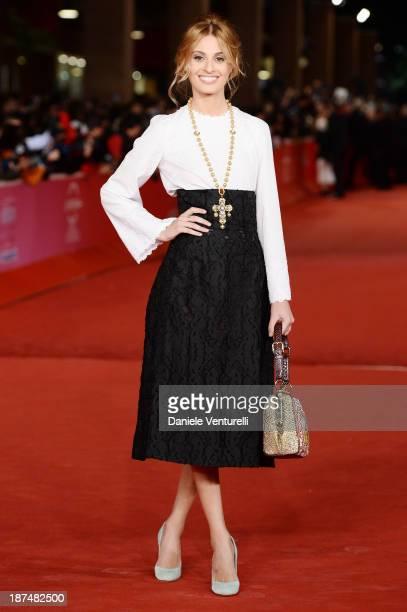 Sveva Alviti attends 'Le Tentazioni Del Dottor Antonio' Premiere Restored with the contribuiton of Dolce Gabbanaduring The 8th Rome Film Festival on...