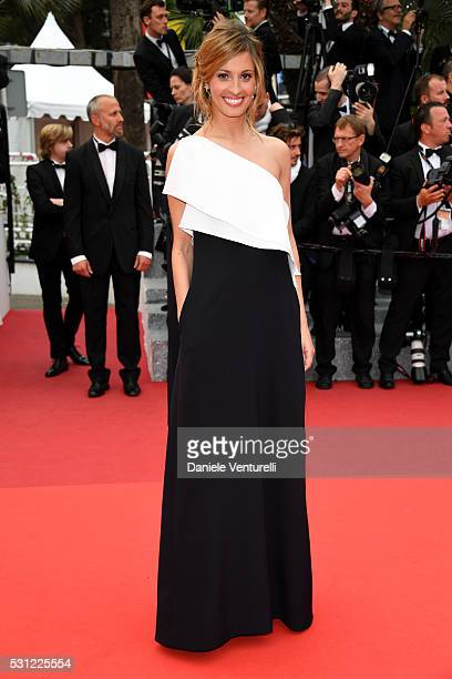 Sveva Alviti attends the 'Slack Bay ' premiere during the 69th annual Cannes Film Festival at the Palais des Festivals on May 13 2016 in Cannes France