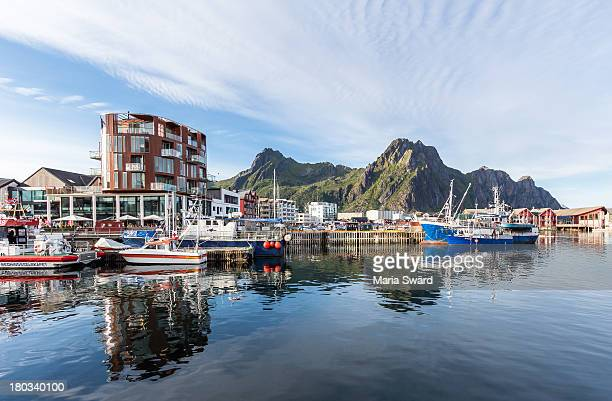 Svolvær, 'the capital of Lofoten', Norway