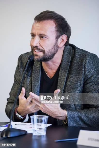Chief Design Officer of PepsiCo Mauro Porcini during the presentation of 'Fabio Novembre DesignArchitecture' at Mondadori Store on April 4 2017 in...