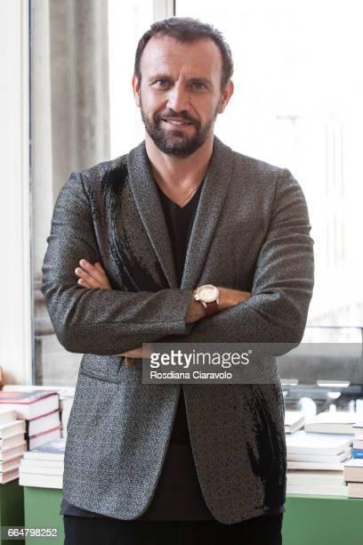 Chief Design Officer of PepsiCo Mauro Porcini poses before the presentation of 'Fabio Novembre DesignArchitecture' at Mondadori Store on April 4 2017...