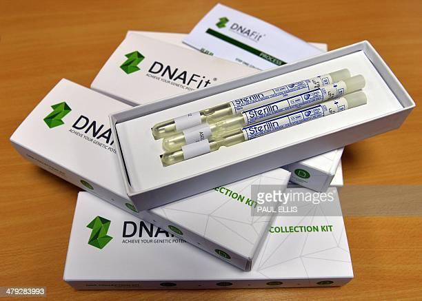 A DNA swab testing kit is pictured in Manchester northwest England on March 17 2014 AFP PHOTO/PAUL ELLIS