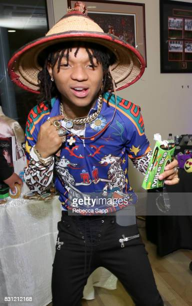 Swae Lee of Rae Sremmurd at Backstage Creations Celebrity Retreat at Teen Choice 2017 Day 2 at Galen Center on August 13 2017 in Los Angeles...