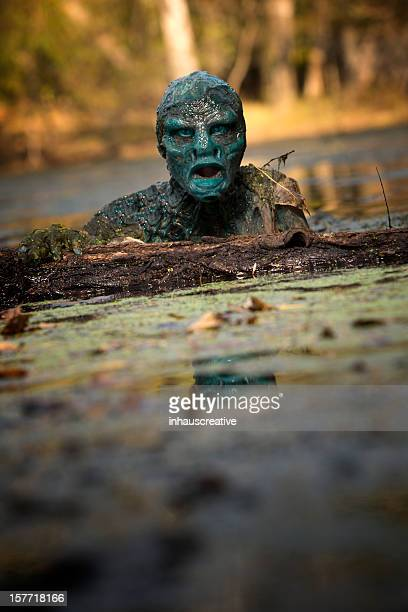 Swamp Monster lurking in the water