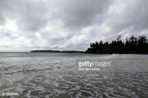 Swamping the Beach : Stock Photo