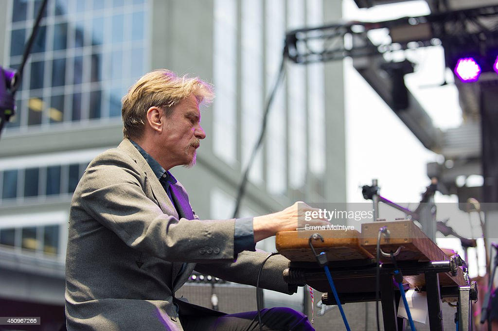 Swans perform at the 2014 NXNE music festival at Yonge-Dundas Square on June 20, 2014 in Toronto, Canada.
