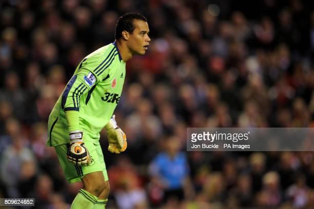 Swansea City goalkeeper Michel Vorm