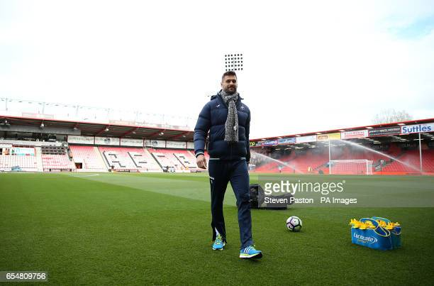 Swansea City's Fernando Llorente prior to the Premier League match at the Vitality Stadium Bournemouth