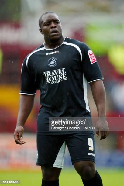 Swansea's Adebayo Akinfenwa