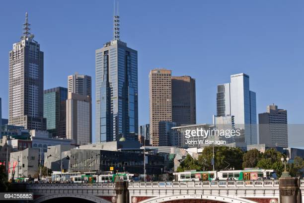 Swanston Street bridge,Melbourne