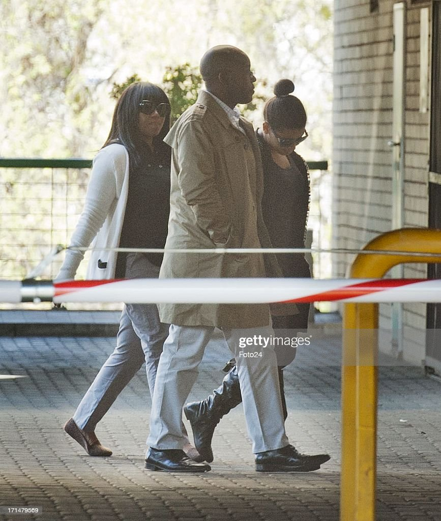 AFRICA - JUNE 25(SOUTH AFRICA OUT) Swati Dlamini outside the Pretoria Heart Hospital on June 25, 2013, in Pretoria, South Africa. Mandela's health is described as 'critical'.