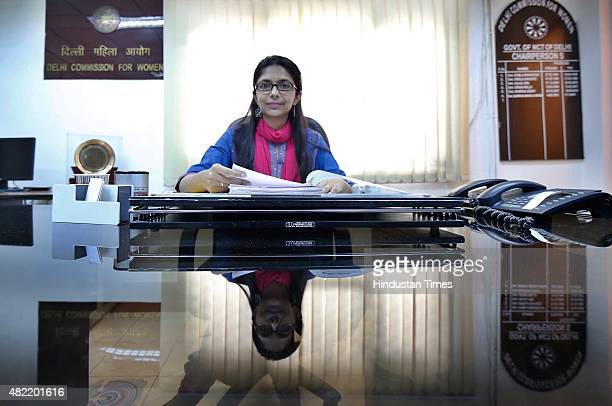Swati Maliwal today took charge as the Chairperson of Delhi Commisson for Women along with three other members a day after their appointments were...
