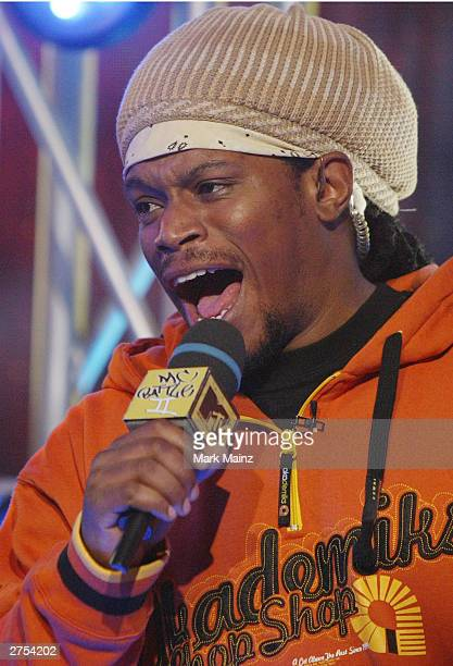 MTV VJ Sway attends MTV's 'MC Battle II The Takeover in Time Square' at MTV's Time Square Studios November 22 2003 in New York City The finalists...