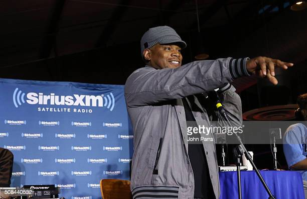 Sway attends SiriusXM's 'Sway In The Morning' On Shade 45 Hosted By Sway Calloway Broadcasts Live From Oaklandon February 4 2016 in Oakland California