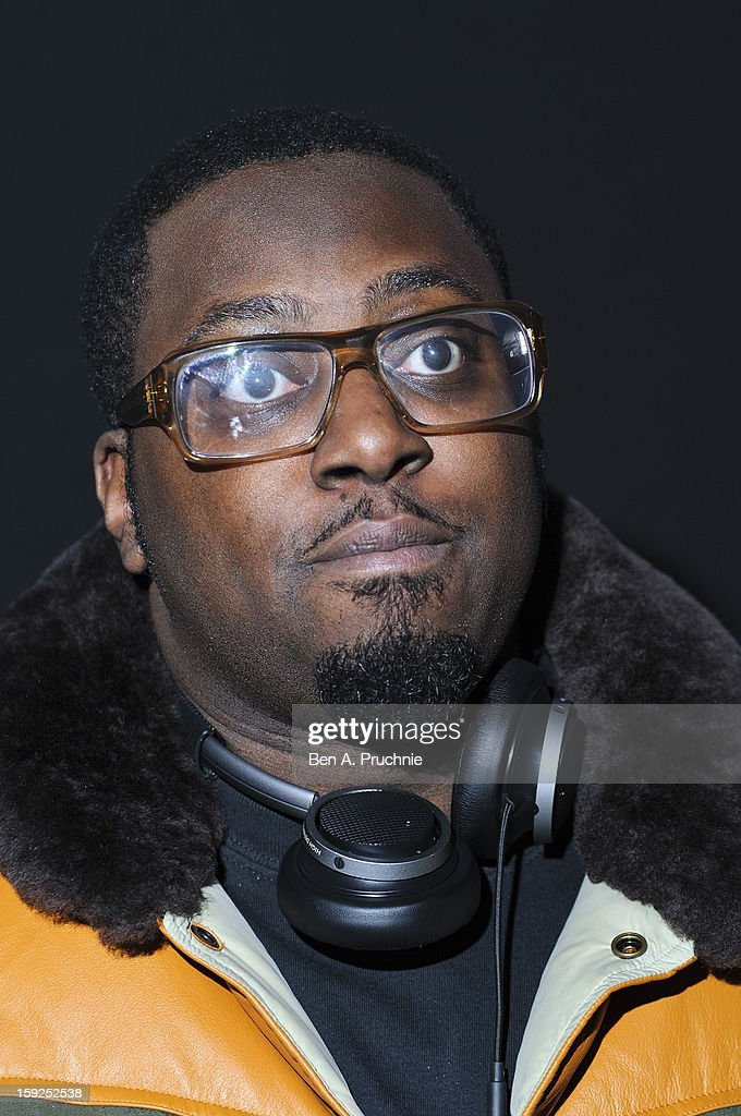 Sway (Born Derek Andrew Safo) attends the Lynx L.S.A launch event at Wimbledon Studios on January 10, 2013 in London, England.