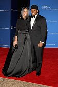 Sway Calloway and a guest attend the 101st Annual White House Correspondents' Association Dinner at the Washington Hilton on April 25 2015 in...