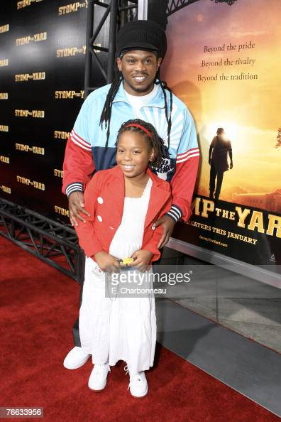 Sway Calloway and daughter Kayoni