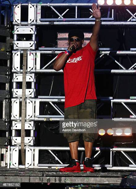Sway Calloway appears at Ultra Music Festival at Bayfront Park Amphitheater on March 27 2015 in Miami Florida