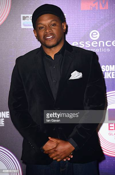 Sway Calloway attends the MTV EMA's 2014 at The Hydro on November 9 2014 in Glasgow Scotland