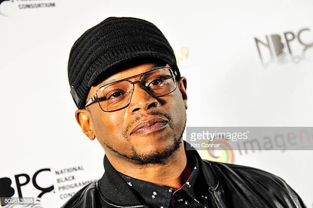 Sway Calloway walks the red carpet the 'Revolution Awards' presented by Imagenation on February 10 2016 in New York City