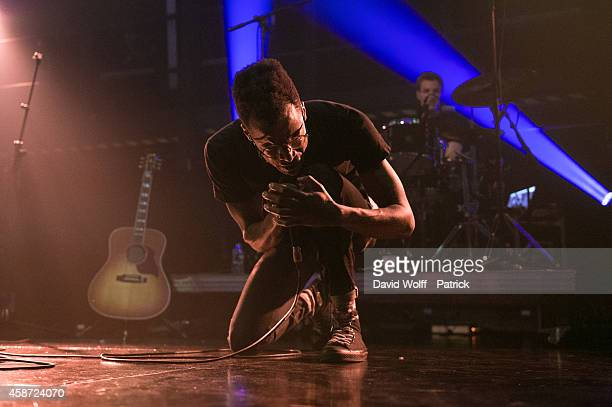 Sway Clarke II performs during Howl Festival at La Gaite Lyrique on November 9 2014 in Paris France