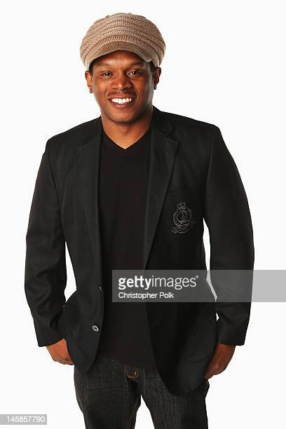 Sway poses in the Wonderwallcomcom Portrait Studio during 2012 CMT Music awards at the Bridgestone Arena on June 6 2012 in Nashville Tennessee