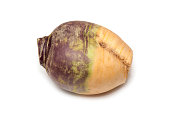 Swede isolated on a white background.