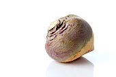 Swede, white background