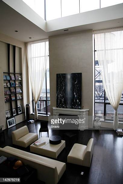 YORK 'Sweden and the Shark' Episode 108 Pictured Soho penthouse loft in New York City