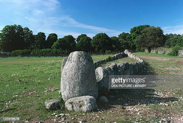 Sweden Gotland Island Bronze Age cemetery
