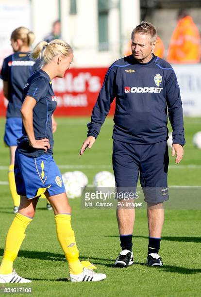 Sweden manager Thomas Dennerby